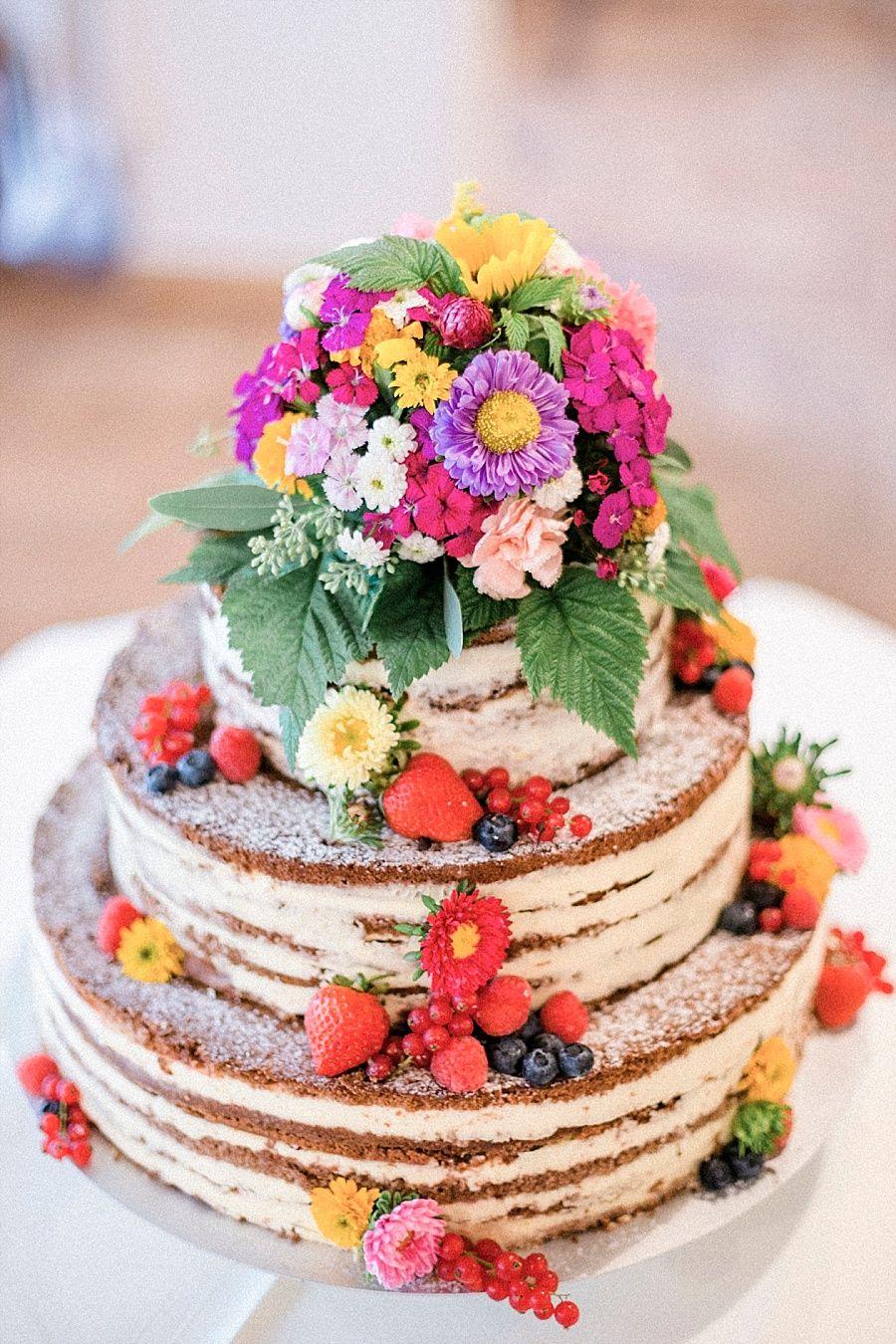 Lassig Bunte Diy Hochzeit Naked Cakes Pinterest Wedding
