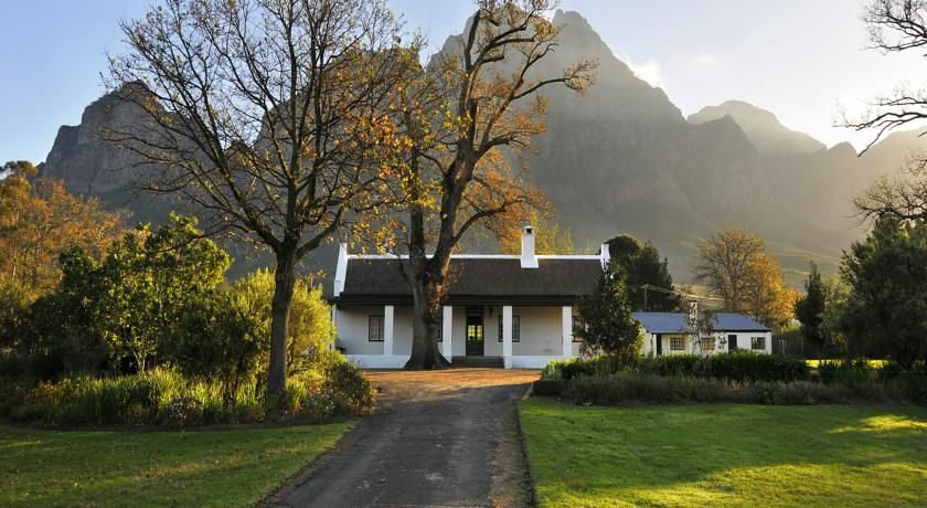 Boschendal Cottages Franschhoek D Afrikai Kozt Cottage