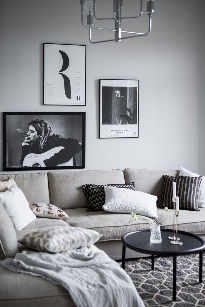Wohnzimmer Inspiration, Skandinavisch, Neue Wohnung, Einrichten Und Wohnen,  Schlafzimmer, Zuhause, Rund Ums Haus, Dekoration, Graue Wohnzimmer