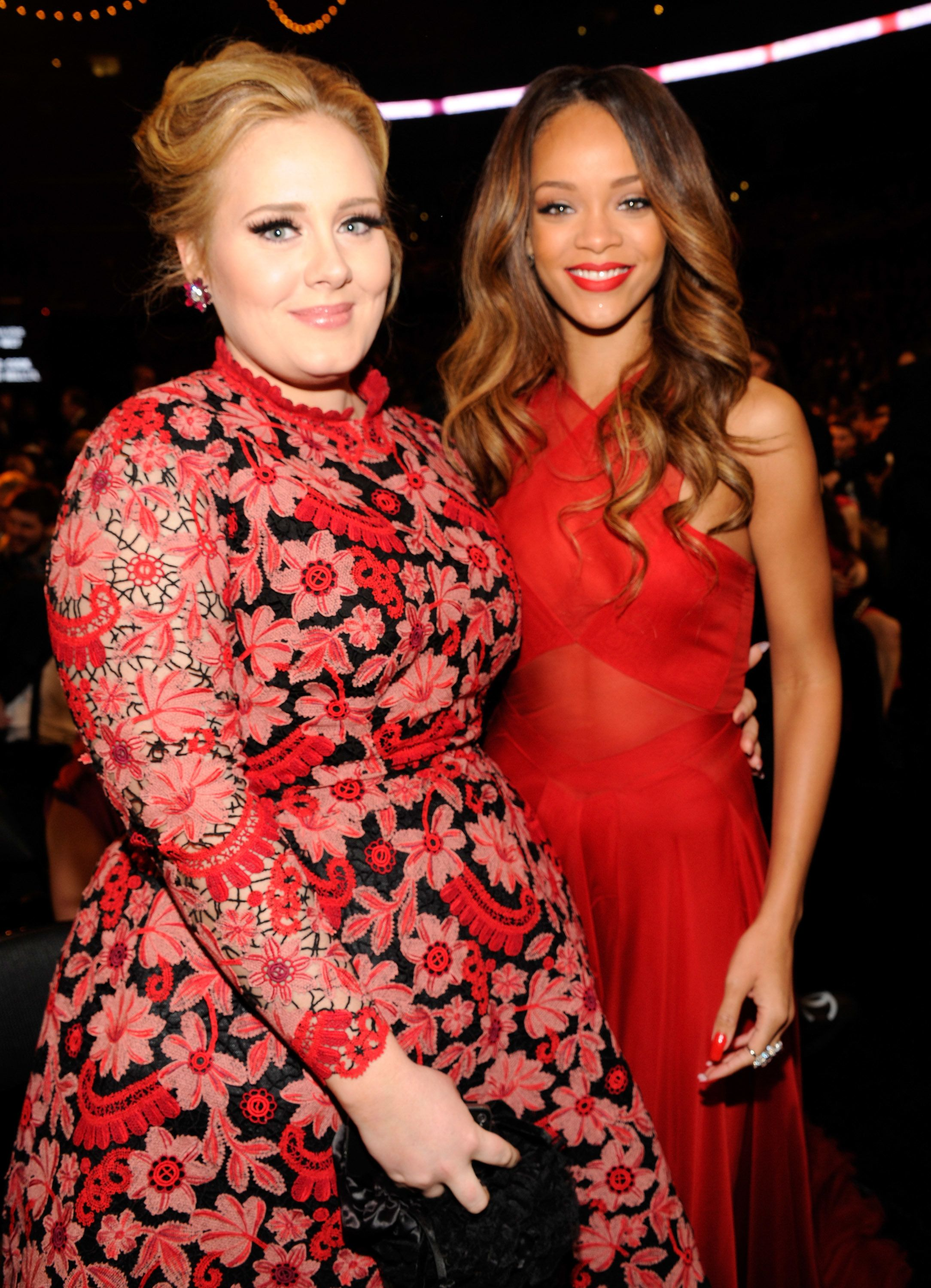 Adele Wrote About How Much She Loves Rihanna And Honestly Same Grammy Awards Adele Rihanna