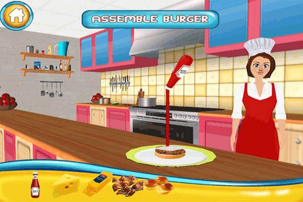 games online girl cooking