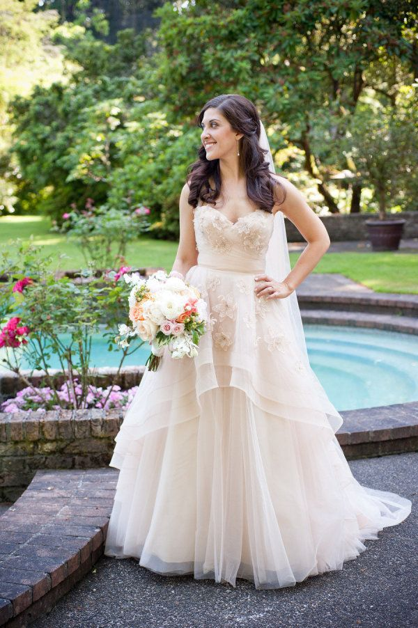 Lakewold Gardens Wedding from Carol Harrold Photography | Gowns ...