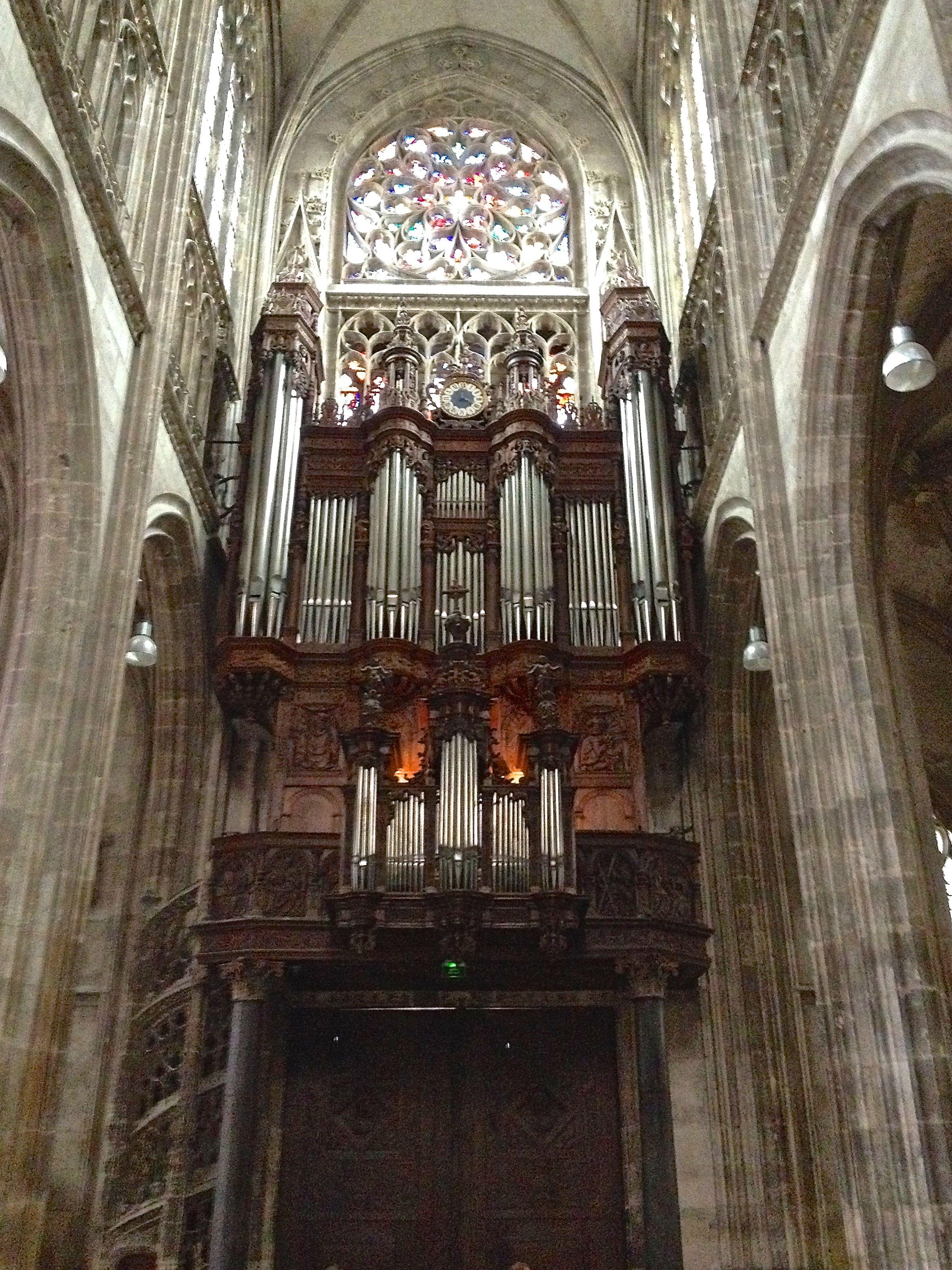 kern organ st maclou rouen france concert july 15 2014 organs i 39 ve played around the. Black Bedroom Furniture Sets. Home Design Ideas