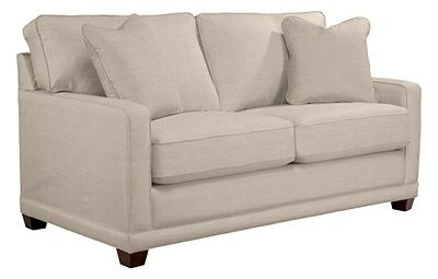 Kennedy Apartment Size Sofa By La Z Boy Vanilla Apartment Size Sofa Sleep Sofa Premier Sofa