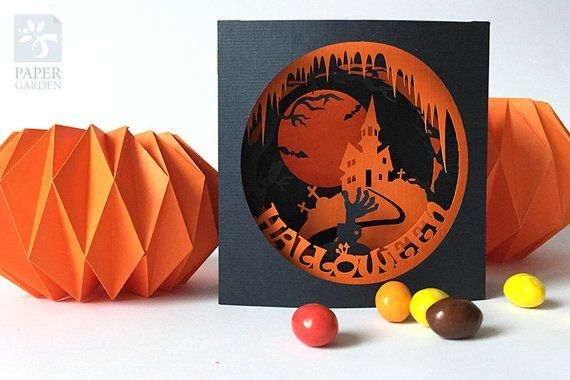 Halloween Pop Up Cards Templates.Pin On Products