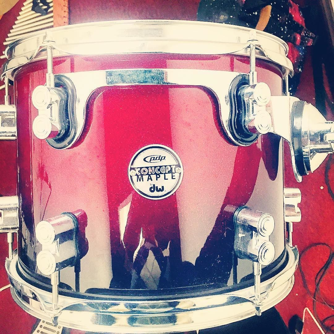 Beautiful Craftsmanship Sounds beautiful and Performance is Beautiful#pdpconceptmaple #dw #redblack #drumporn by ron_dmc1