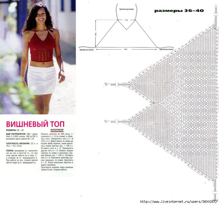 Crop Top Crochet | Crochet dream\'s | Pinterest | Tops de bikini ...