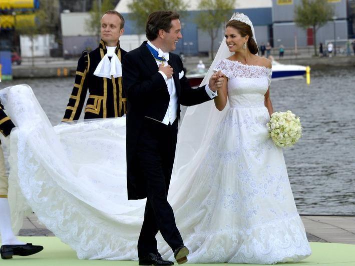 Hochzeit In Schweden Die Schonsten Bilder Von Madeleine Und Chris O Neill Couture Brautkleider Westliche Brautkleider Royale Hochzeiten