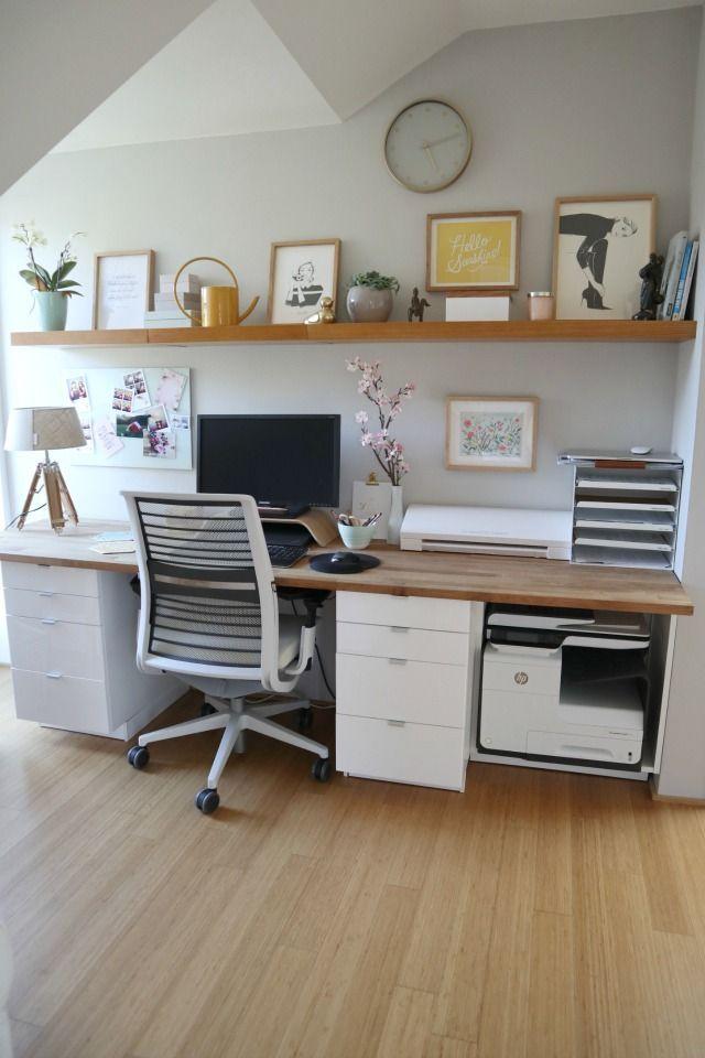 Mein neues Büro und der Frühlings-Bloghop (www.das-mach-ich-nachts.com)