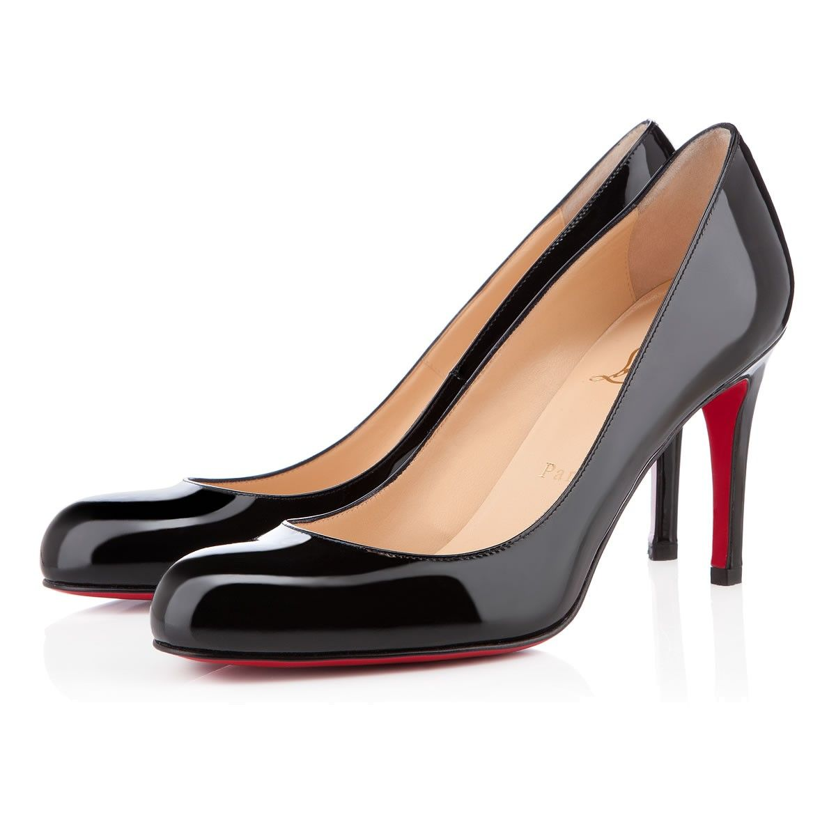 christian louboutin simple 70mm black
