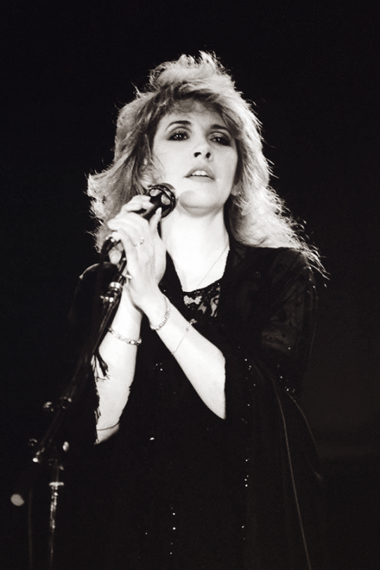 Stevie at the US Festival in 1983Photo credit Charlyn