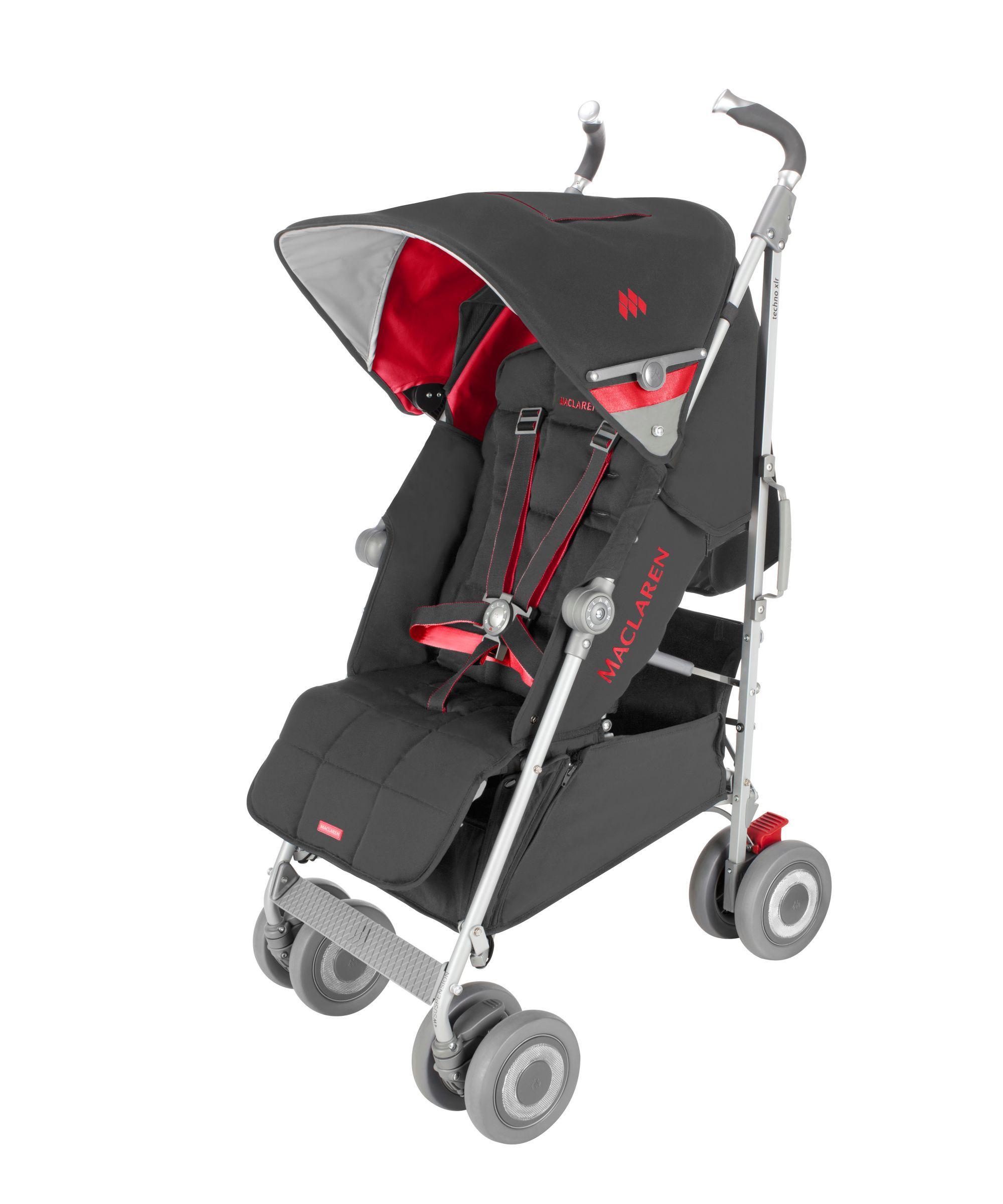Maclaren Techno XLR Stroller Cardinal/Charcoal