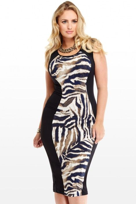 Sexy Plus Size Animal Print Body Con from Fashion To Figure ...
