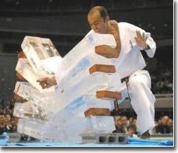 Kyokushin Karate Ice Breaking | M | Pinterest | Kyokushin, Karate ...