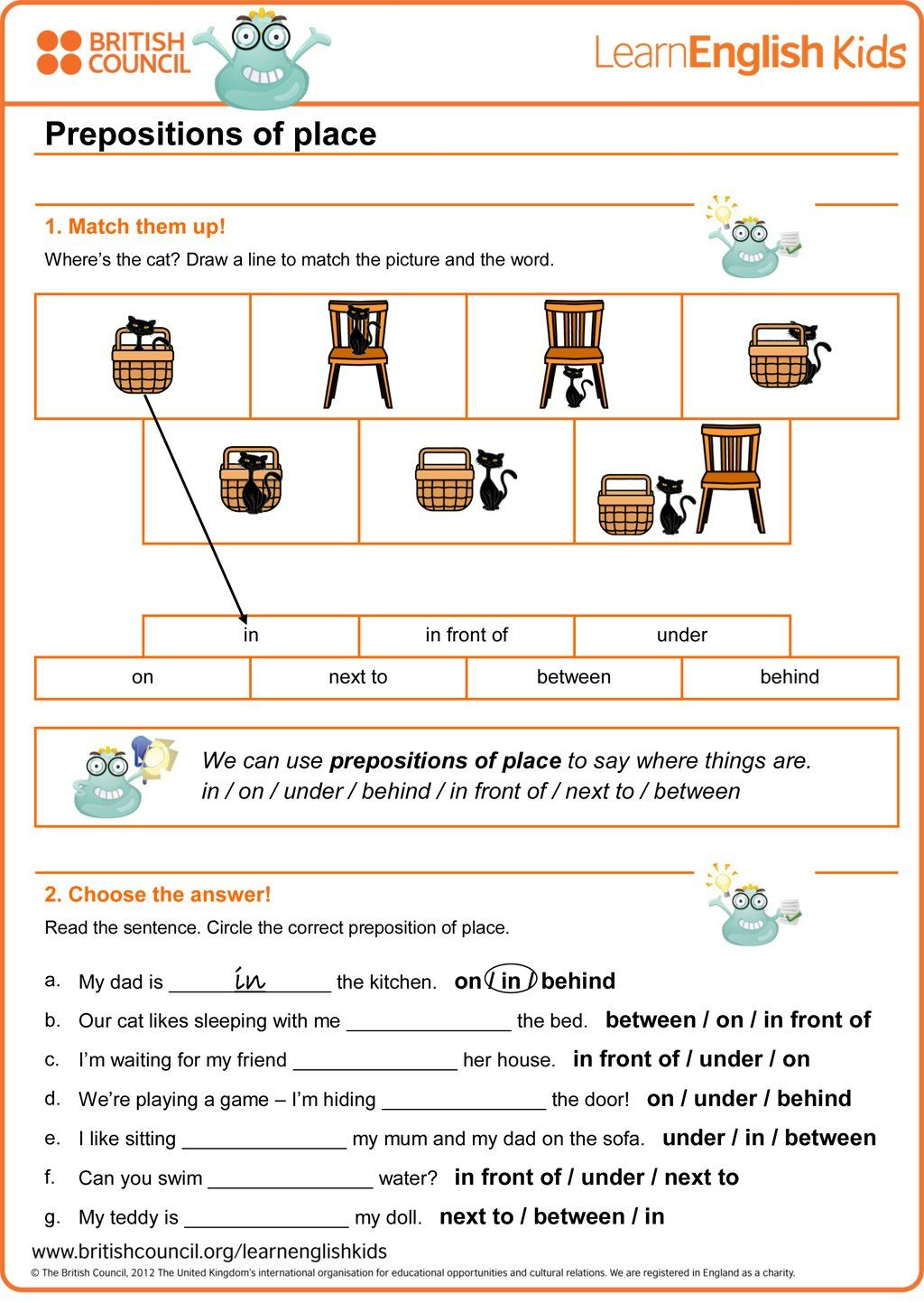 (63) Twitter Prepositions, Words, British council
