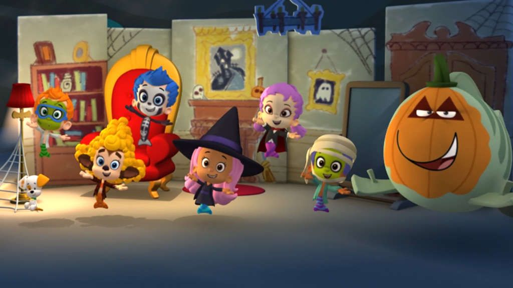 Image result for bubble guppies trick-or-treat mr ...