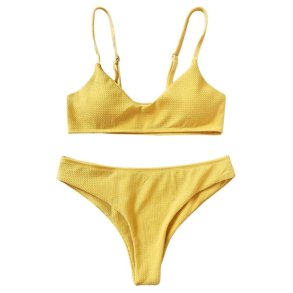 e2ad3eb1d27 Celina Bikini Set - Orange in 2019   aloha   Bikinis, Bikini set, Swimwear