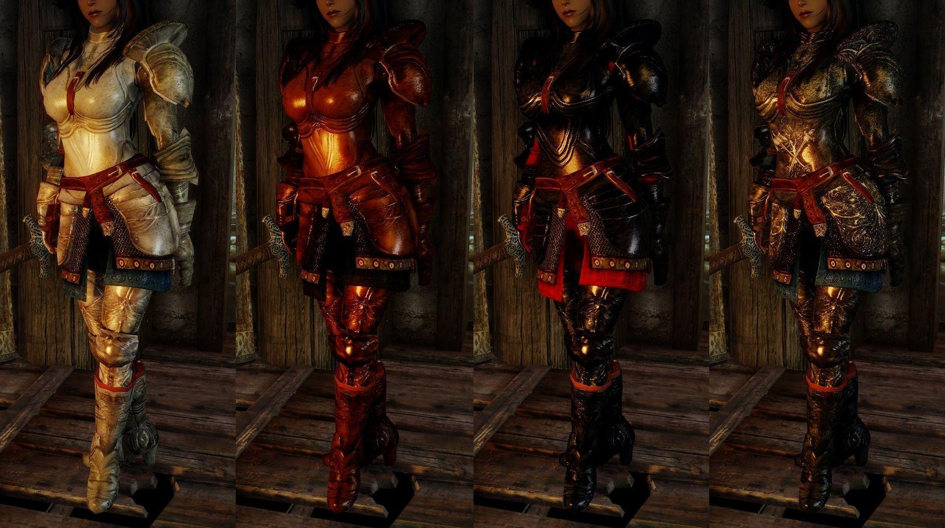Plate Armor Plus from Oblivion to Skyrim by Rhodanum ...