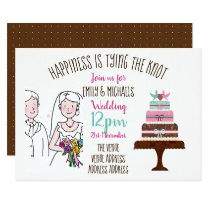 Informal fun wedding invite handwriting drawing wedding and weddings informal fun wedding invite handwriting drawing stopboris Choice Image