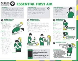 Free St Johns First Aid Guide First Aid Basic First Aid First