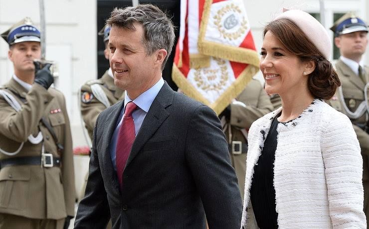 Crown Prince Frederik and Crown Princess Mary begin a State Visit to Poland day 1 May 12th. 2014