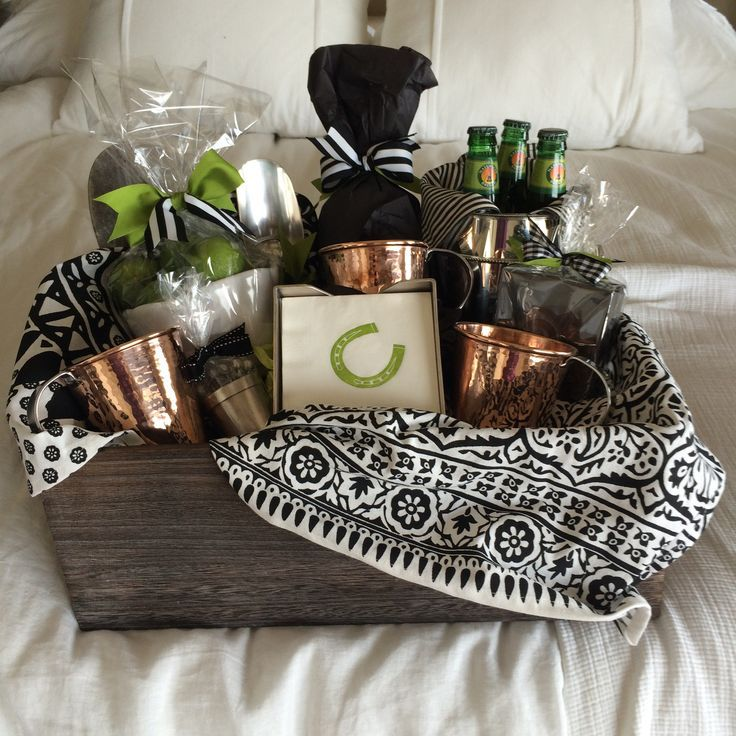Moscow Mule Gift Basket Mugs Are By Sertado Copper They Make Larger 18oz And Better Quality