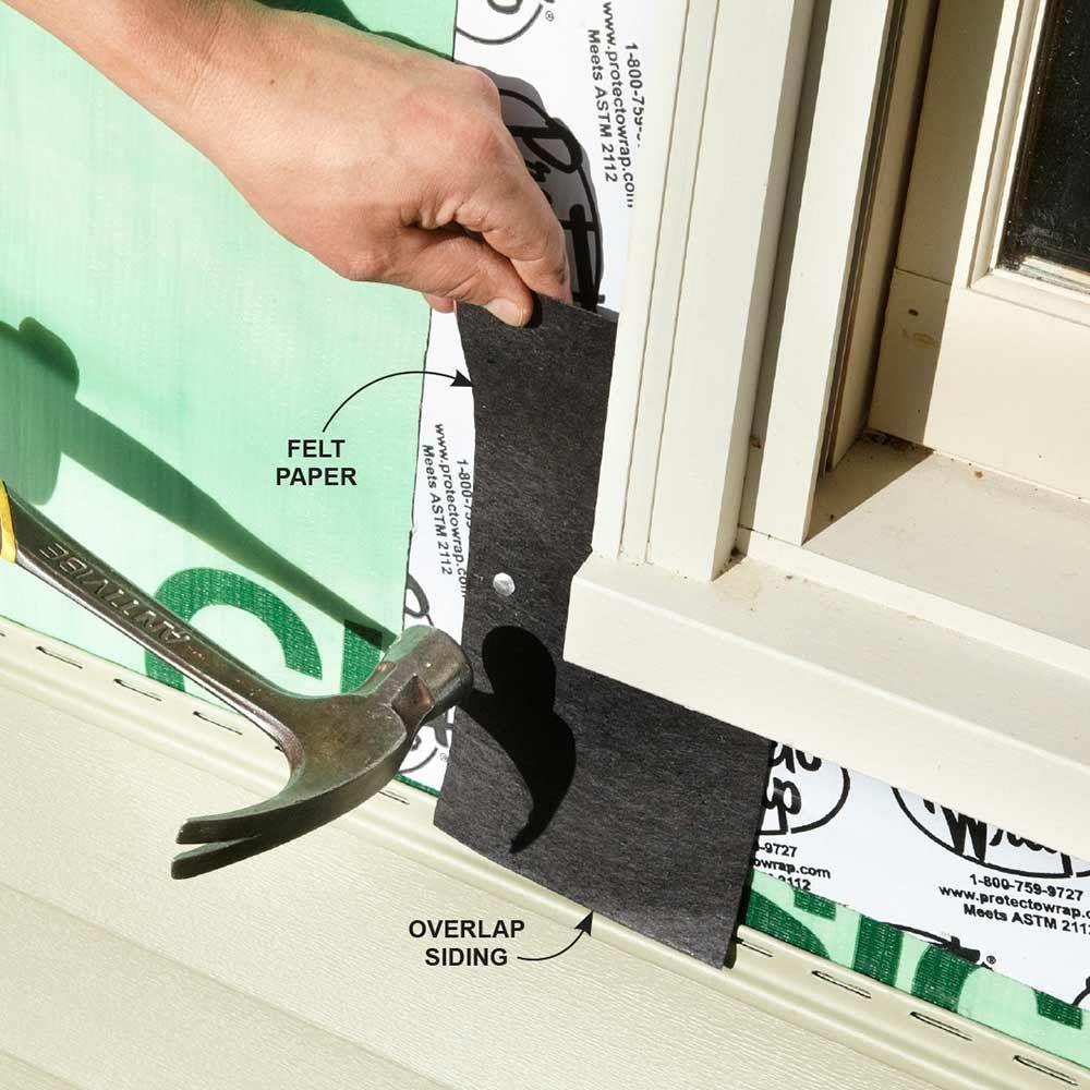 13 Simple Vinyl Siding Installation Tips Vinyl Siding Repair Vinyl Siding Installation Vinyl Siding