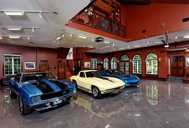 Image detail for -Check out the coolest living room garages ...