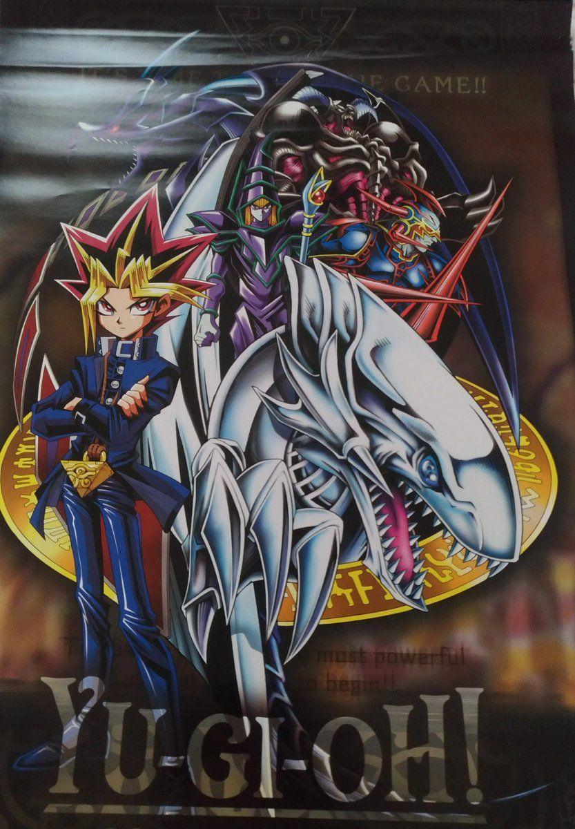 toei and bandai yugioh poster