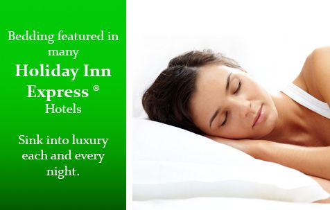 Buy Same Bedding From Beds At Holiday Inn Express Pillows Com