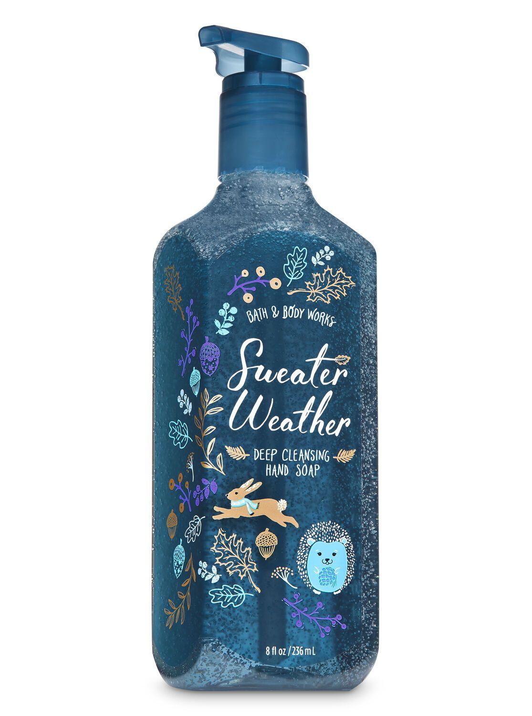 Sweater Weather Gentle Foaming Hand Soap By Bath Body Works
