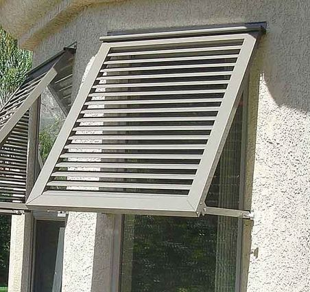 Looking for awnings for the windows on the west side of ...
