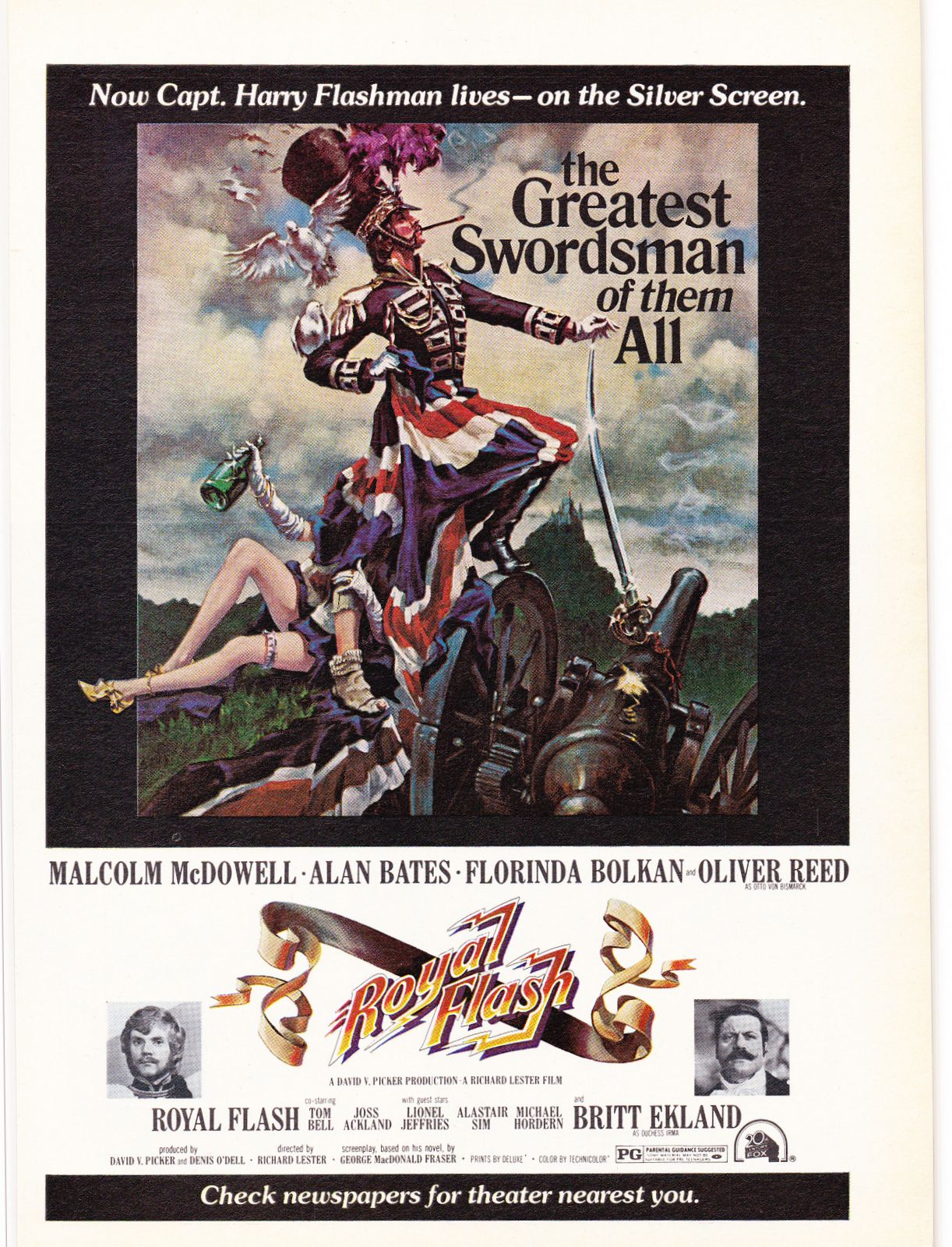 royal-flash-poster.jpg (1222×1600) | Movie poster art, Wall art ...