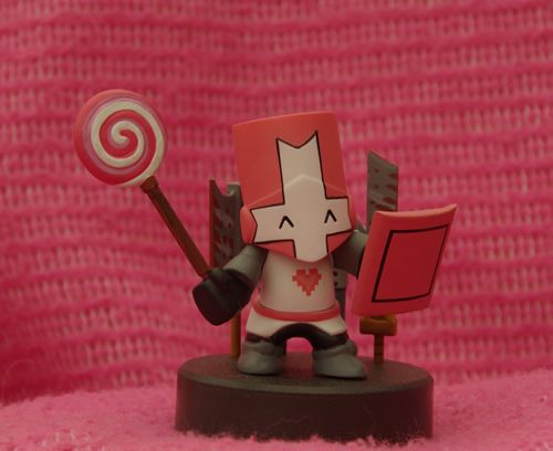 Limited Edition Castle Crashers Pink Knight 20 Castle Crashers Fun Image Look Up