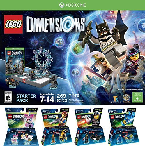 LEGO Dimensions Starter Pack for Xbox One PLUS LEGO Movie Bundle ...