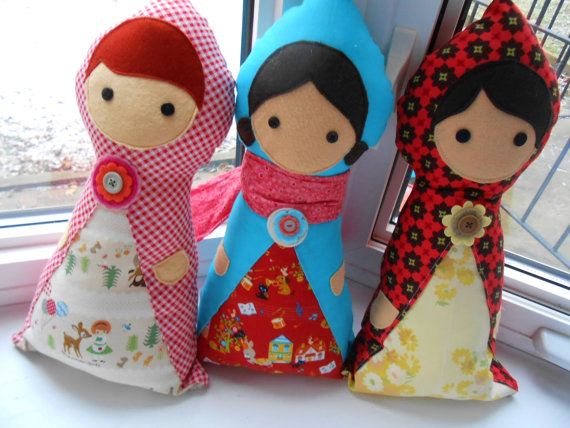 Little Traveller Doll PDF Sewing Pattern - Rag Doll - Matryoshka ...