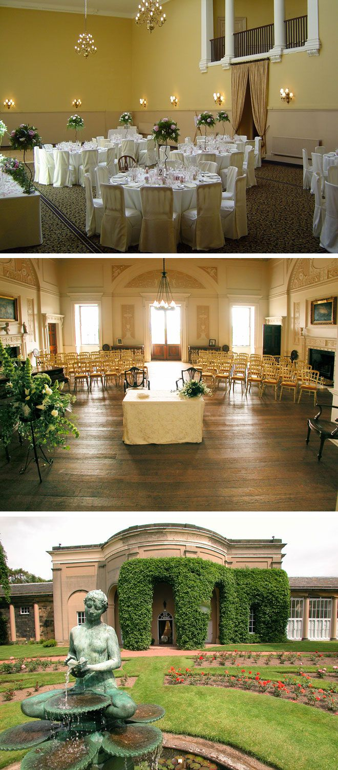 Nostell Priory wedding venue in Yorkshire