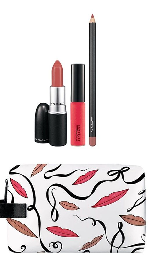 MAC's nude lip trio is perfect balance of no-color and color