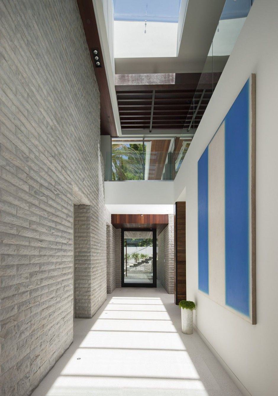 Architecture interiors A Sense of Boldness and