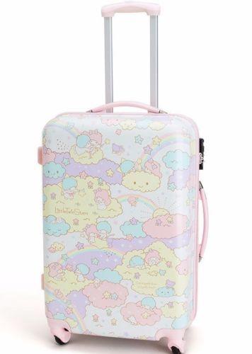 093394ff8a NEW-Sanrio-Little-Twin-Stars-Carry-Case-Trolley-bag -KIKI-LALA-KAWAII-japan-Cloud