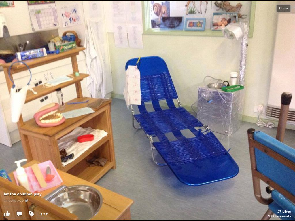 16 best images about Role play Area on Pinterest | Santas ... |Preschool Dramatic Play Dentist