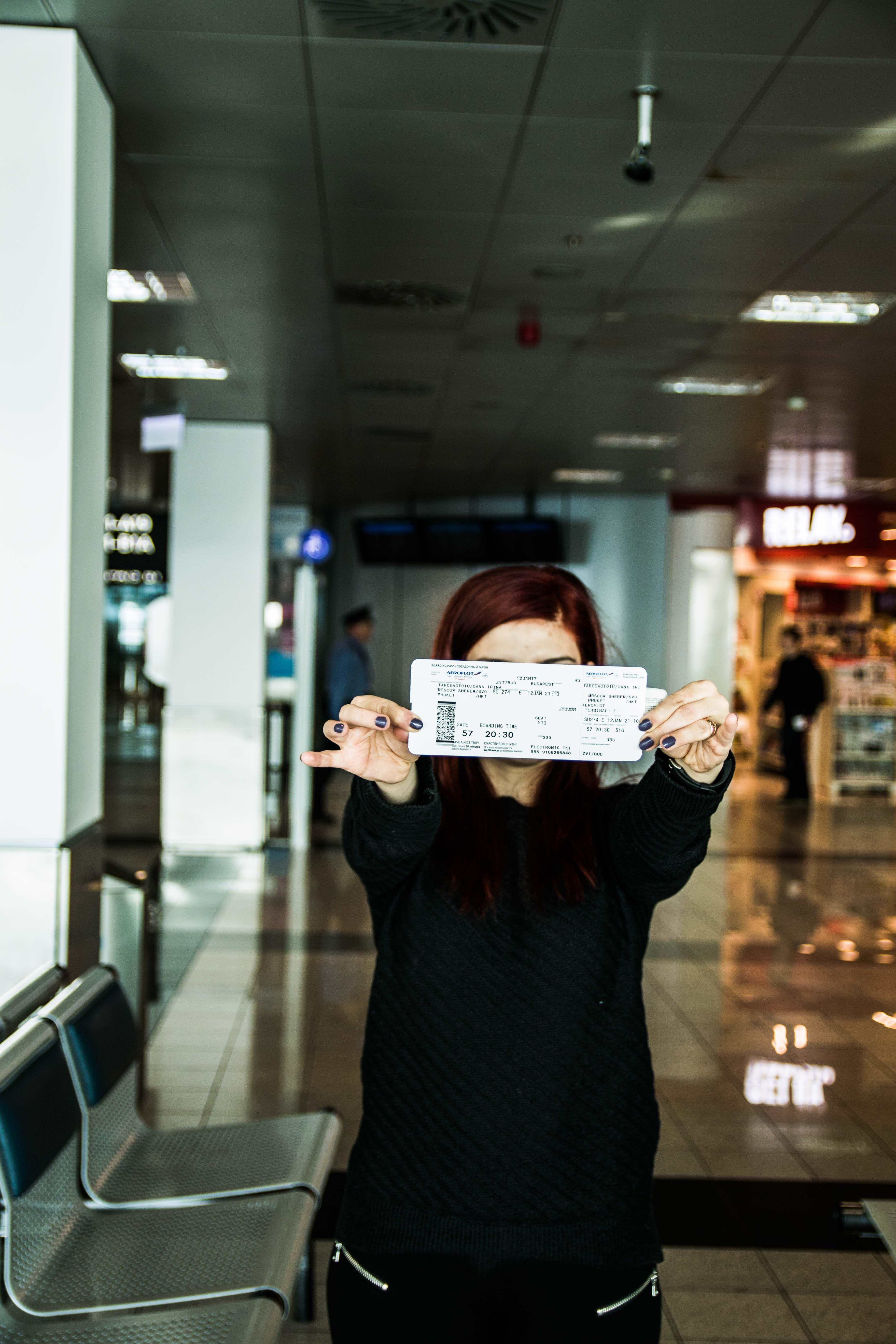 phuket trip passport ticket photography