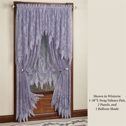 wisteria arbor lace valances and curtain panels in 2019 a rh pinterest com