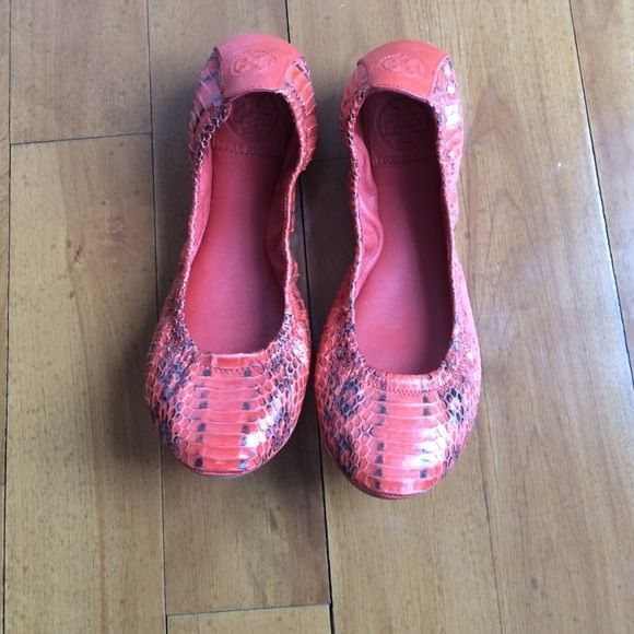 48d46b120 Tory Burch Eddie Snake flats Comfortable flats for summer or fall Shoes  Flats   Loafers