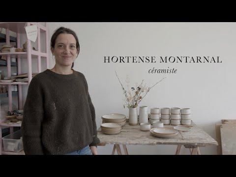 Hortense MONTARNAL - Céramiste // BMPCC4K - YouTube