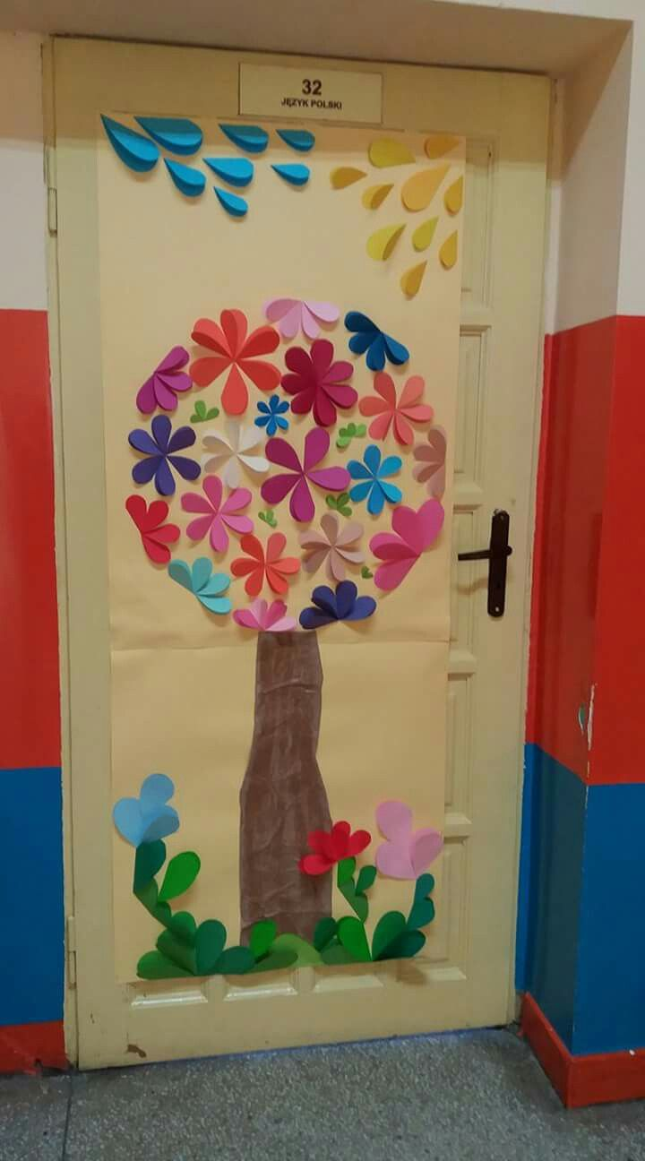 Decoraciones De Primavera En Preescolar
