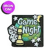 "2"" Embroidered Fun Patch. Iron-on. Plan a game with your girls and invite the family or make it a service unit event. Since no Girl Scout event is complete"