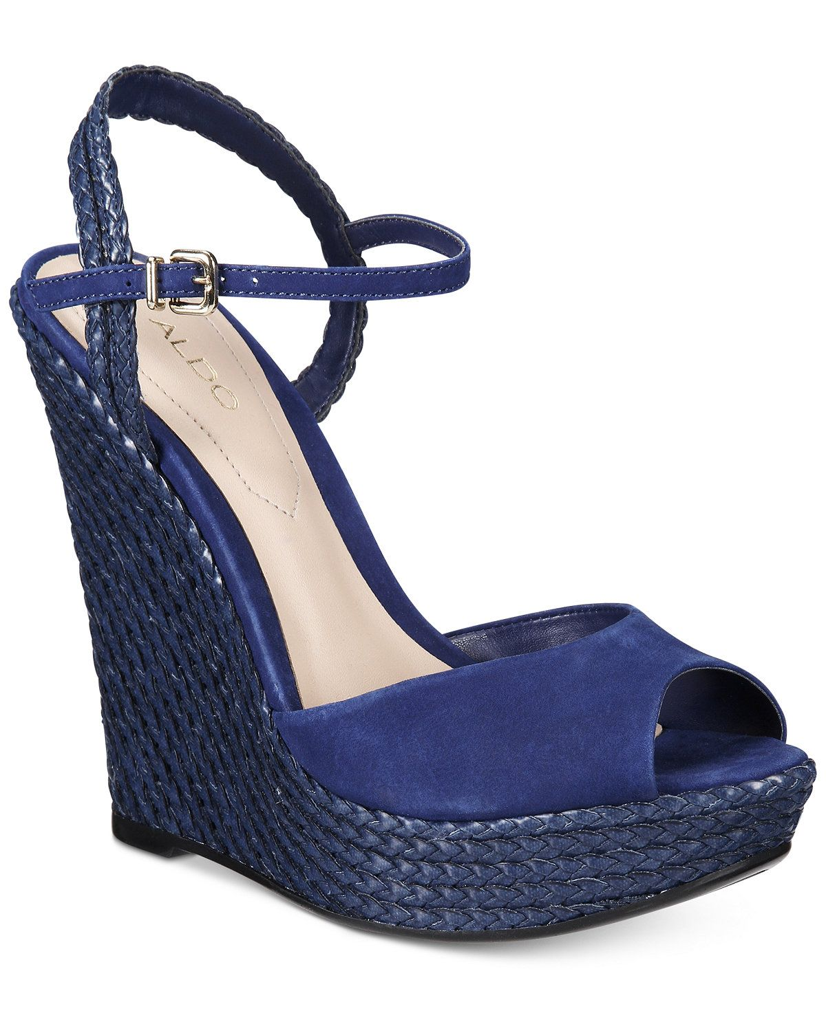 Shizuko Ankle-Strap Wedge Sandals