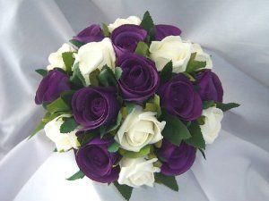Cadbury Purple And Ivory Wedding Flowers Google Search Purple