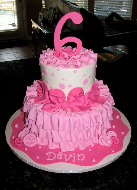Outstanding Devins Cake With Images Girly Birthday Cakes Cake Girl Cakes Personalised Birthday Cards Xaembasilily Jamesorg